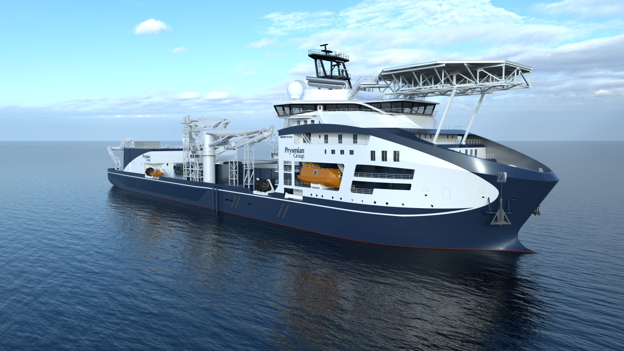 Das neue Flaggschiff der Prysmian Group