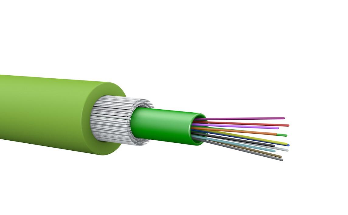 Für höchste Brandsicherheit: Cca- und B2ca-LWL-Kabel von Draka