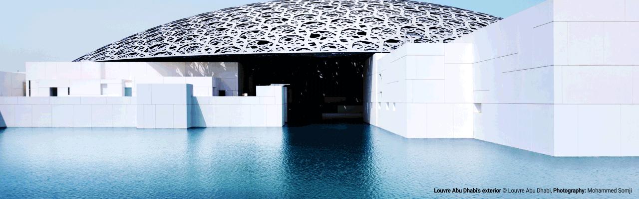 Louvre Abu Dhabi: 500 km Verkabelung sorgen für eine sichere Energieversorgung