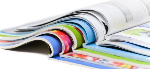 Kataloge, Broschüren