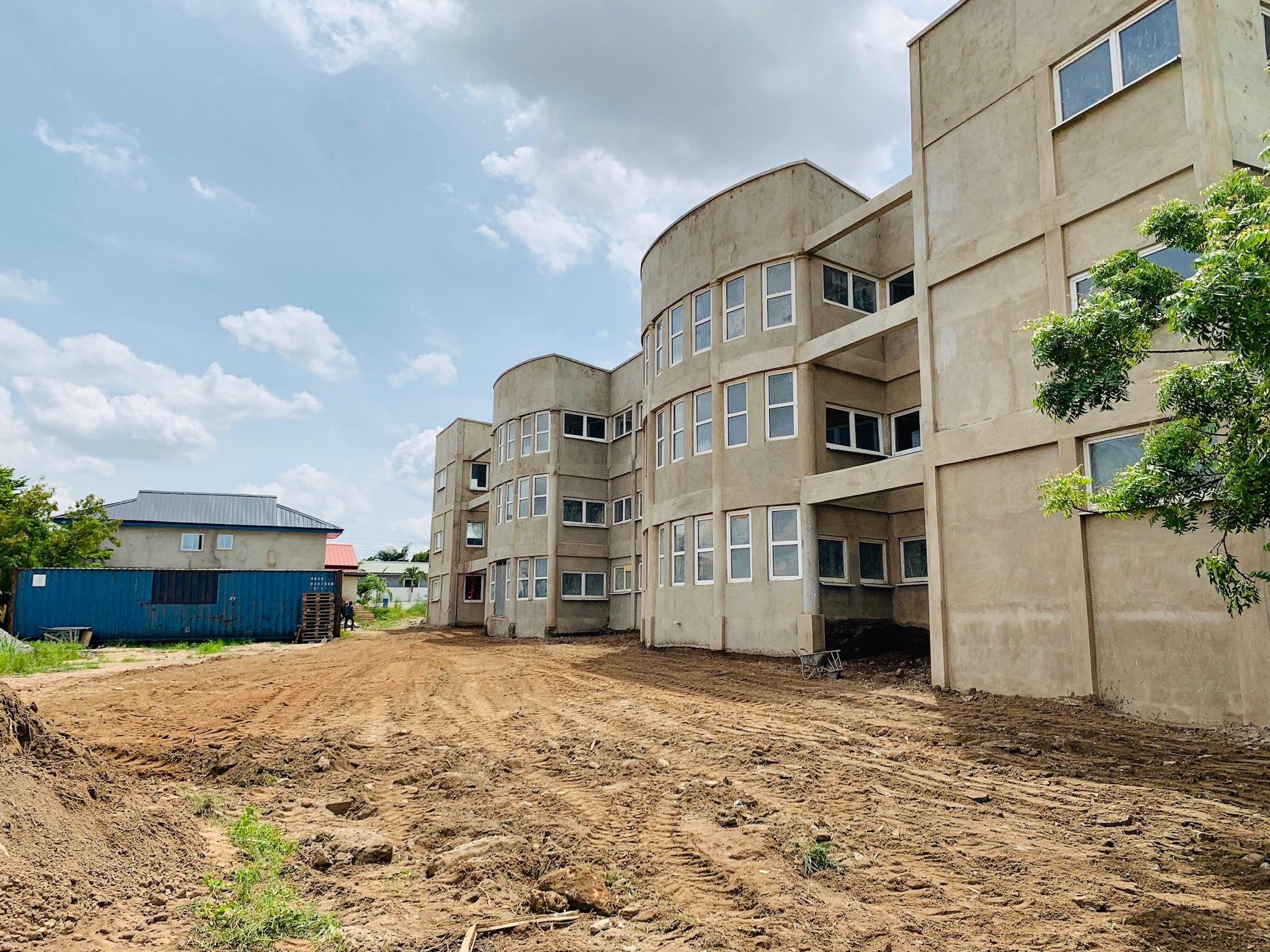 Kabelspende für Krankenhaus in Ghana