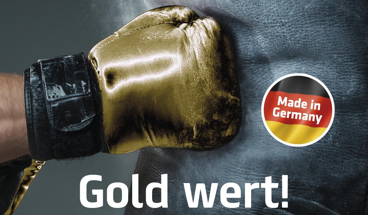 Gold wert!
