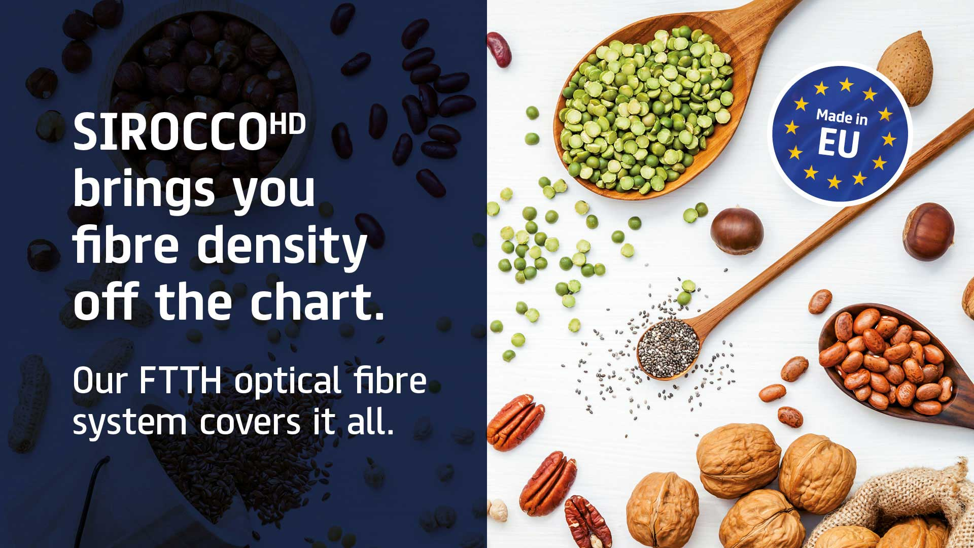 SIROCCOHD brings you fibre density off the chart
