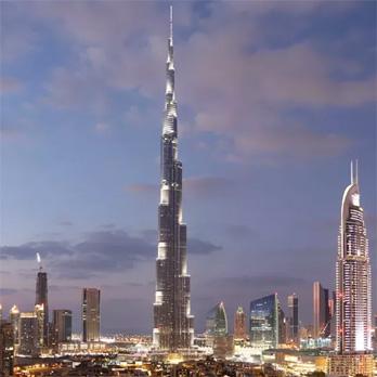 Burj Khalifa: Sicherheit bis in den Himmel