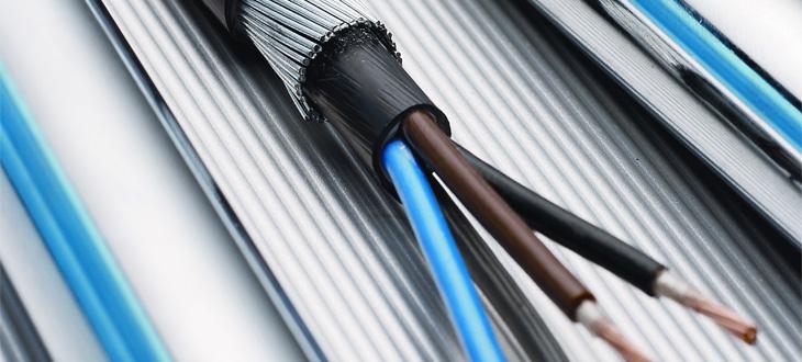 Niederspannungskabel für die Elektroverteilung