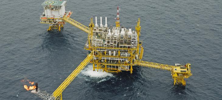 Energieversorgung von Offshoreplattformen